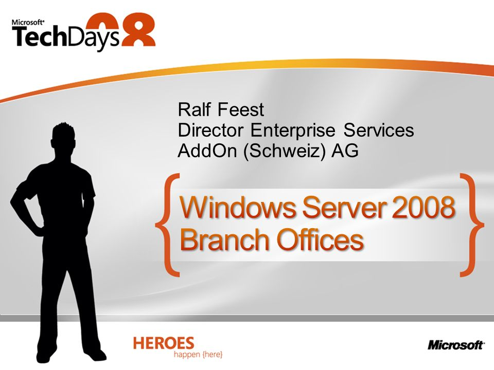 Windows Server 2008 Branch Offices