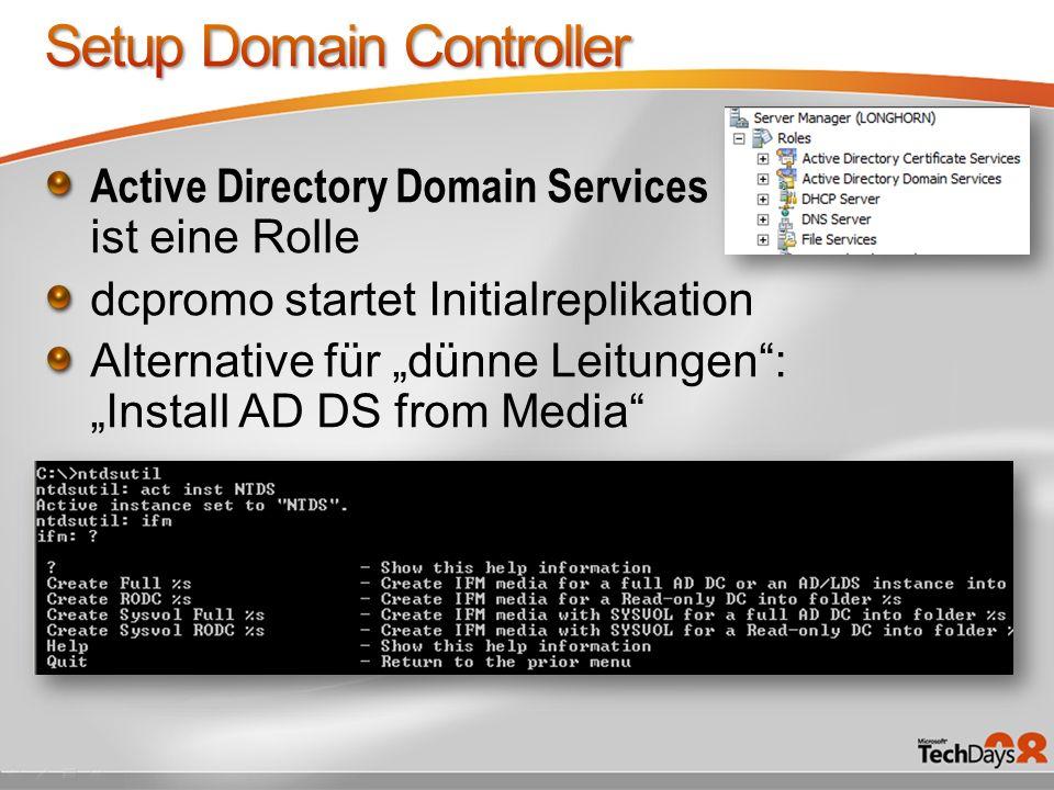 Setup Domain Controller