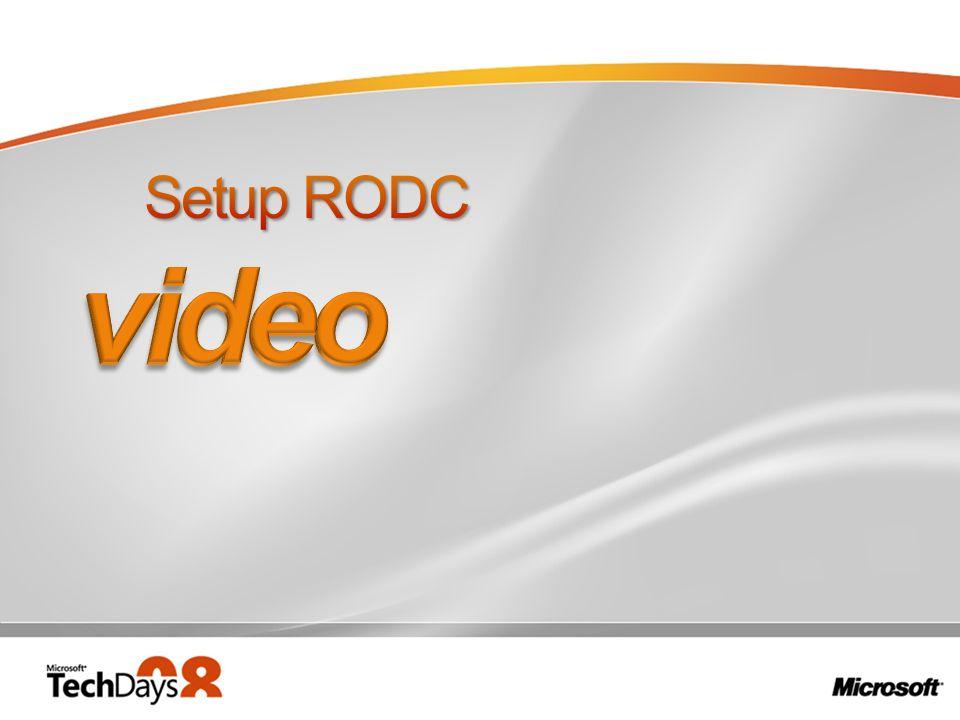 3/28/2017 8:11 PM Setup RODC. video.