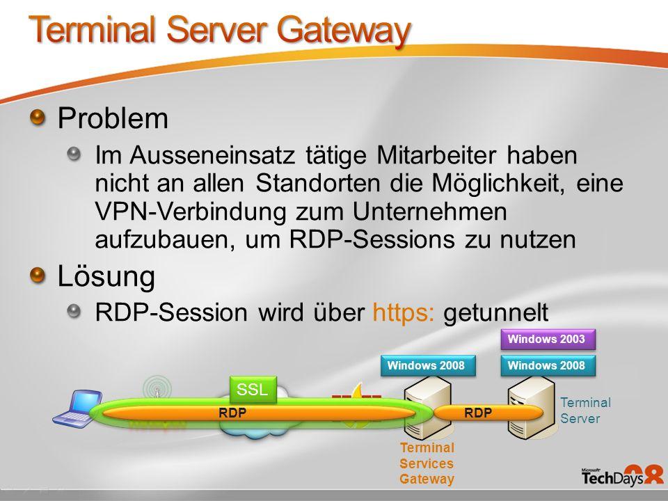 Terminal Server Gateway