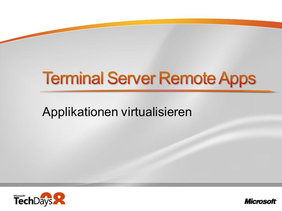 Terminal Server Remote Apps