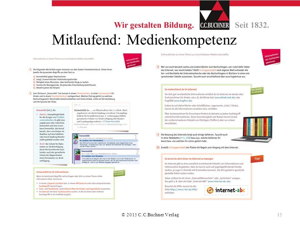 Mitlaufend: Medienkompetenz