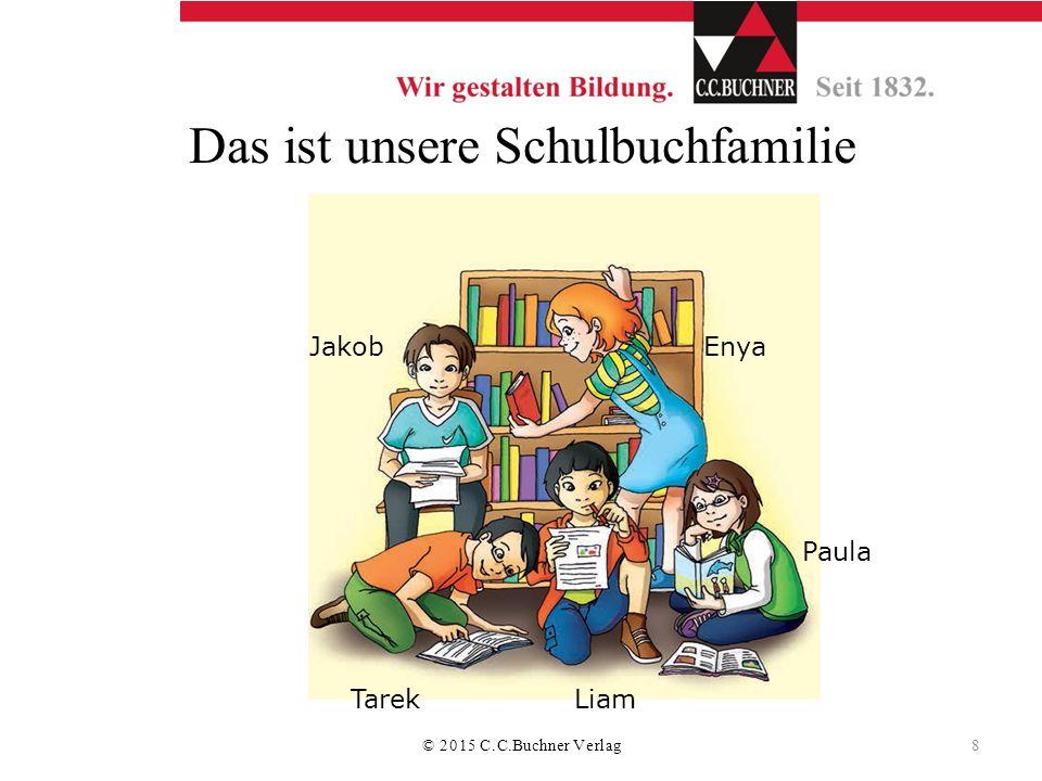 Das ist unsere Schulbuchfamilie