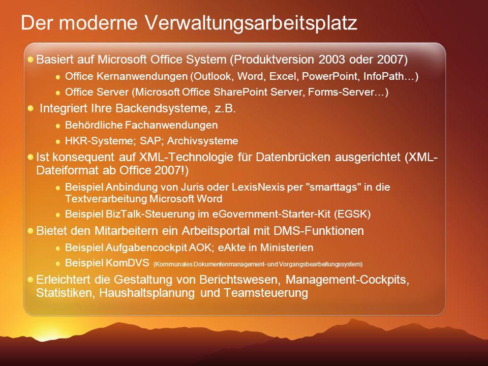 Der moderne Verwaltungsarbeitsplatz