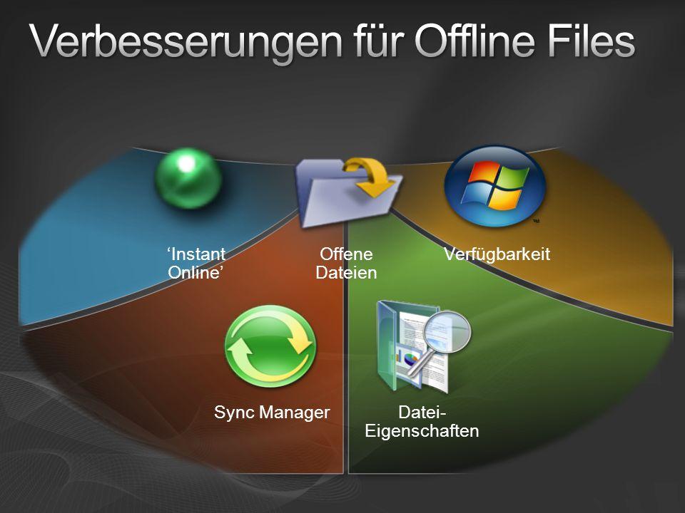 Verbesserungen für Offline Files