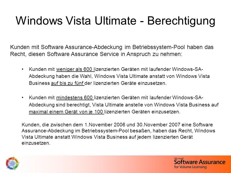 Windows Vista Ultimate - Berechtigung