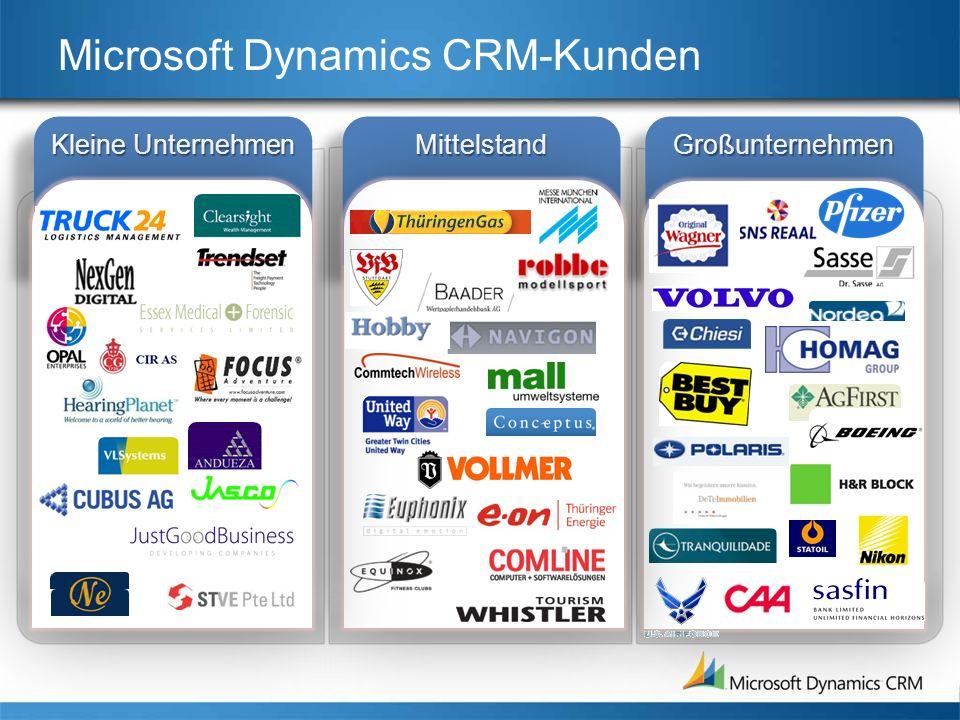 Microsoft Dynamics CRM-Kunden
