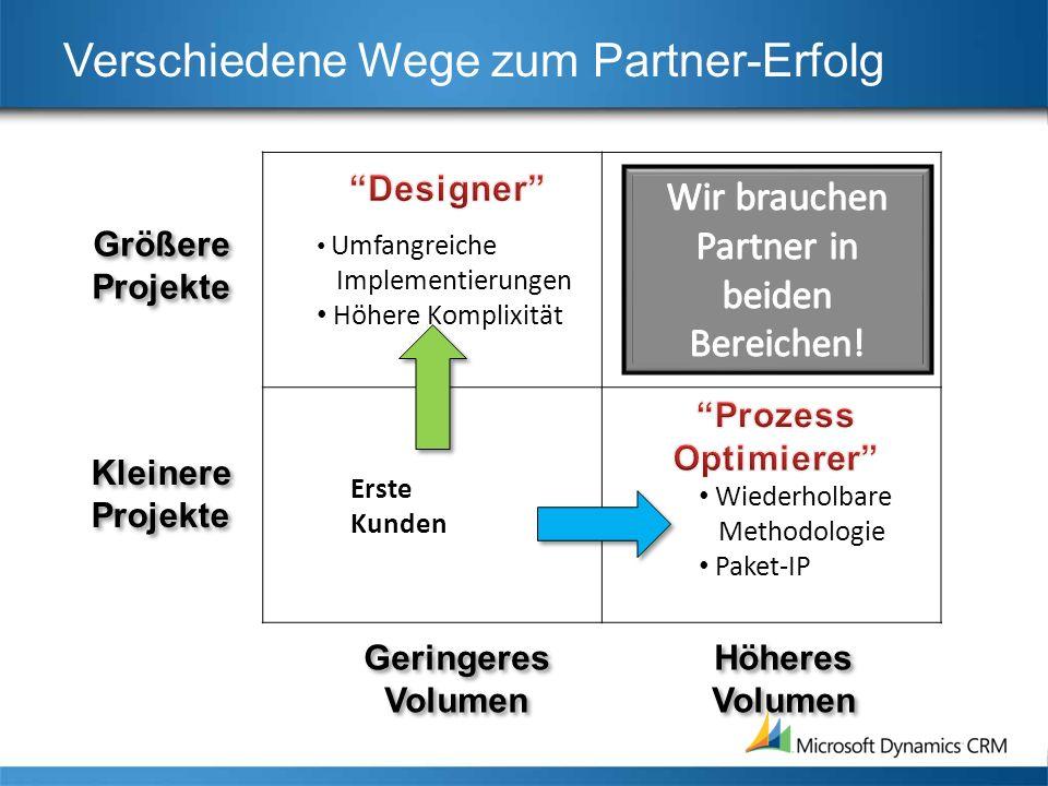 Verschiedene Wege zum Partner-Erfolg