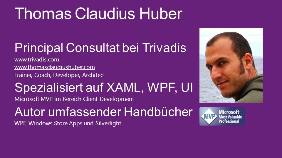 Thomas Claudius Huber Principal Consultat bei Trivadis