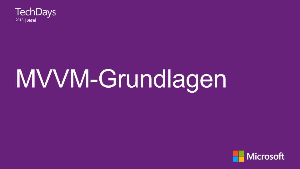 MVVM-Grundlagen
