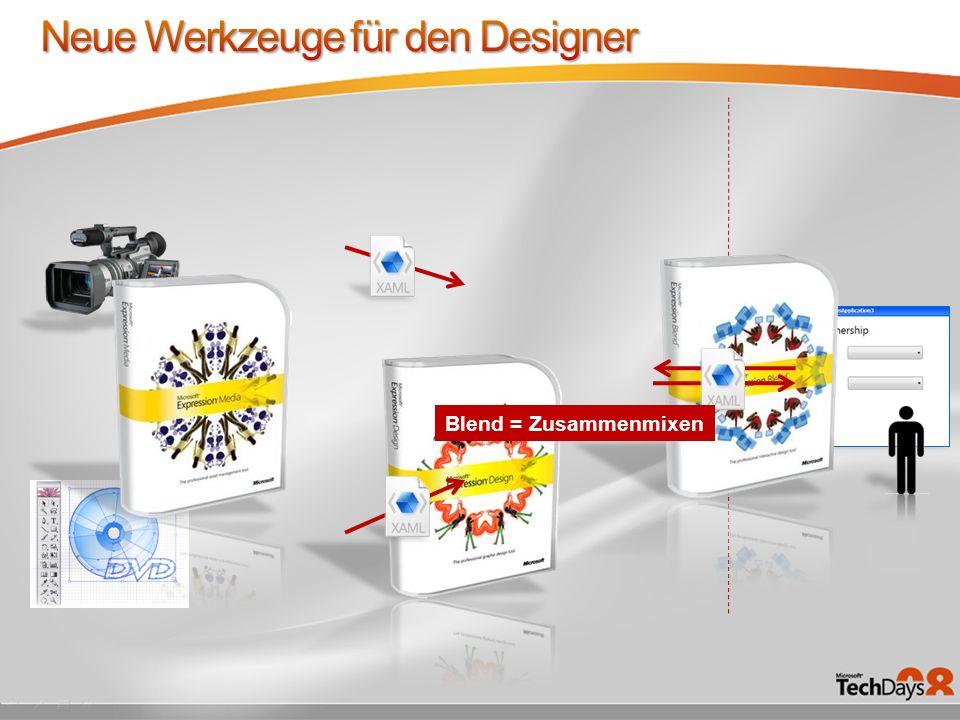 Neue Werkzeuge für den Designer