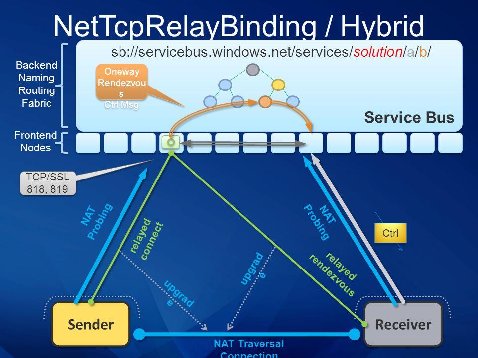 NetTcpRelayBinding / Hybrid