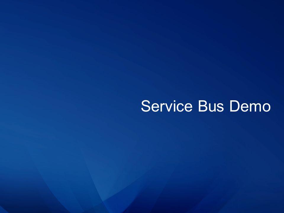 Service Bus Demo