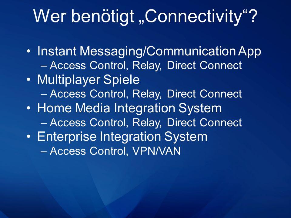 """Wer benötigt """"Connectivity"""