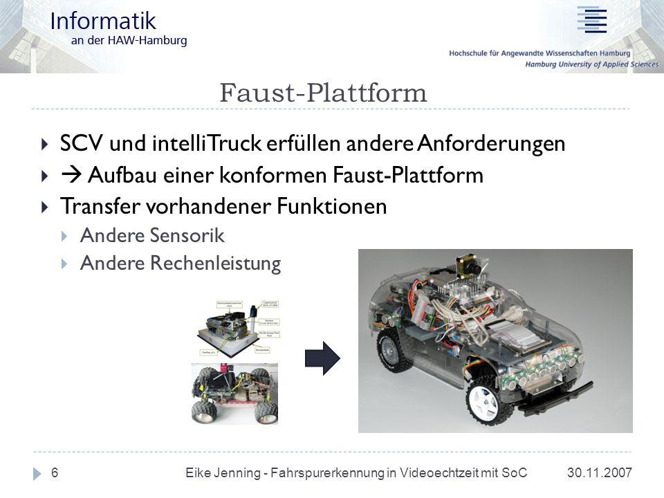 Faust-Plattform SCV und intelliTruck erfüllen andere Anforderungen