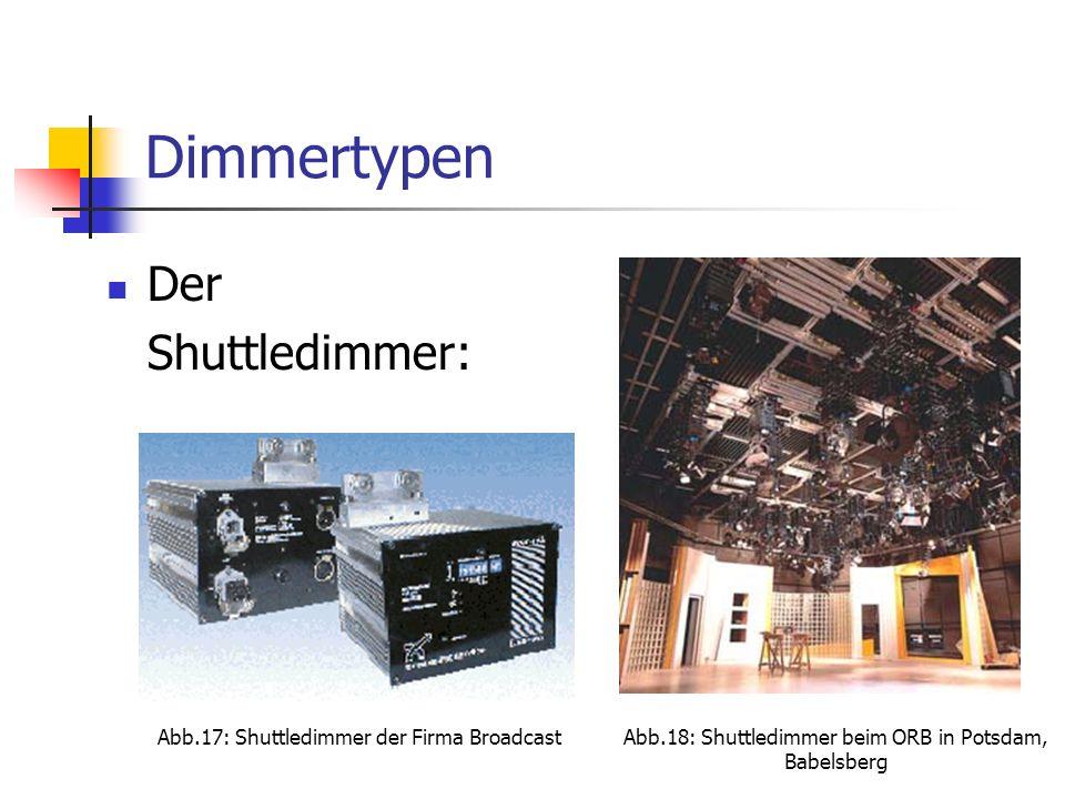 Abb.18: Shuttledimmer beim ORB in Potsdam, Babelsberg