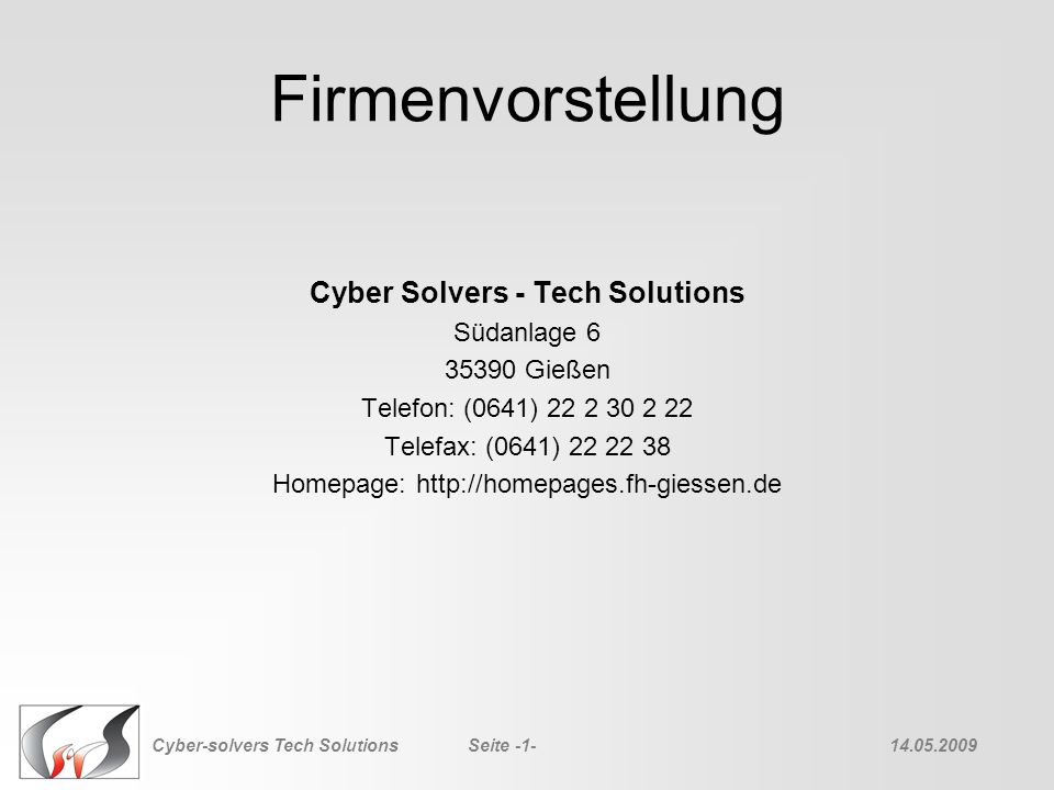 Cyber Solvers - Tech Solutions