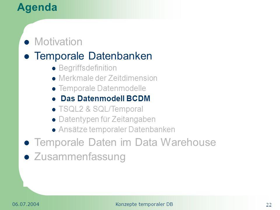 Konzepte temporaler DB