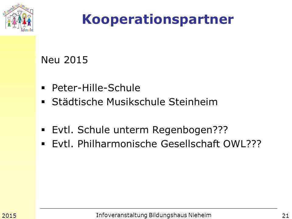 Infoveranstaltung Bildungshaus Nieheim