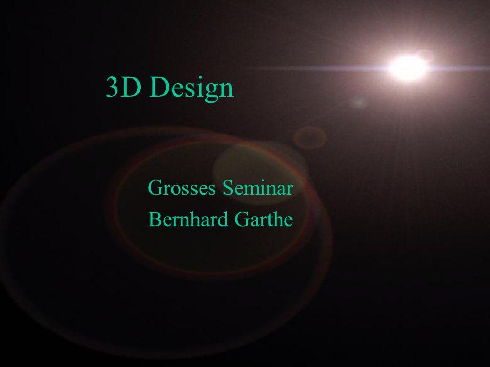 Grosses Seminar Bernhard Garthe