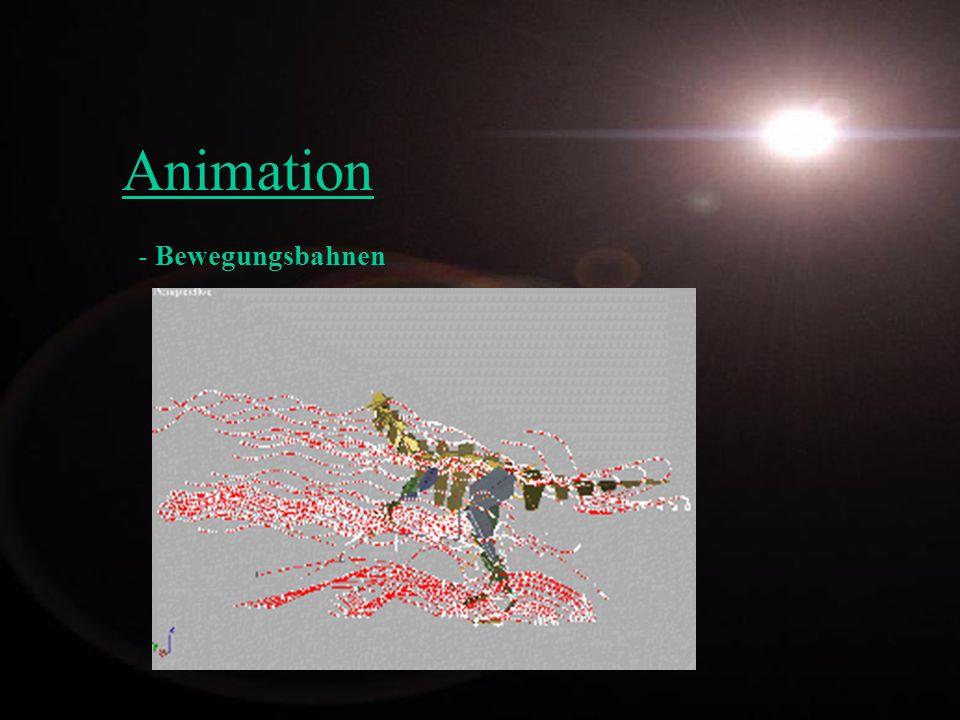 Animation Bewegungsbahnen