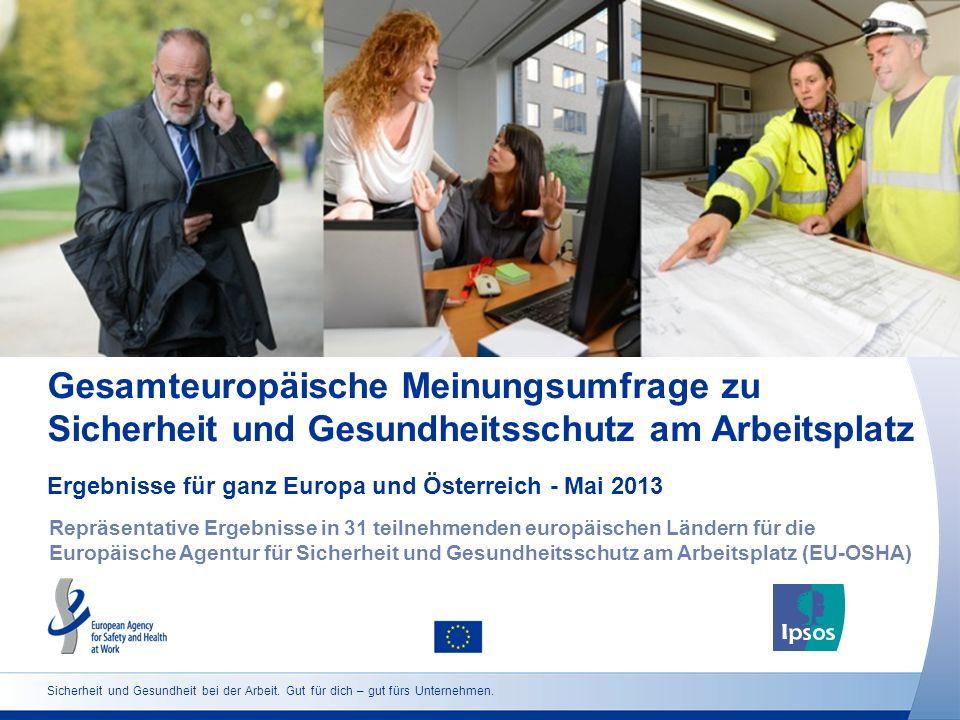 Ergebnisse für ganz Europa und Österreich - Mai 2013