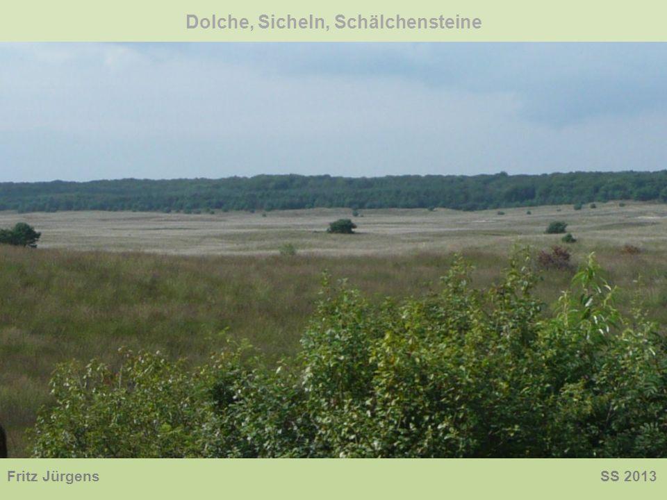 Dolche, Sicheln, Schälchensteine