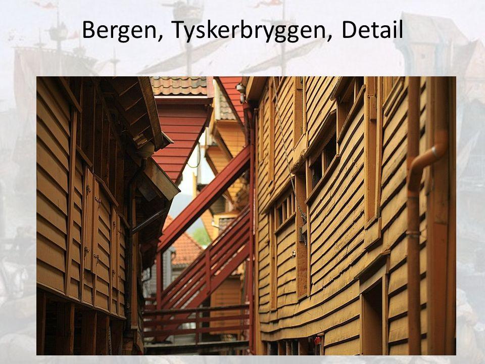 Bergen, Tyskerbryggen, Detail