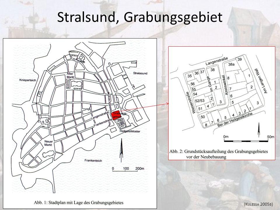 Stralsund, Grabungsgebiet