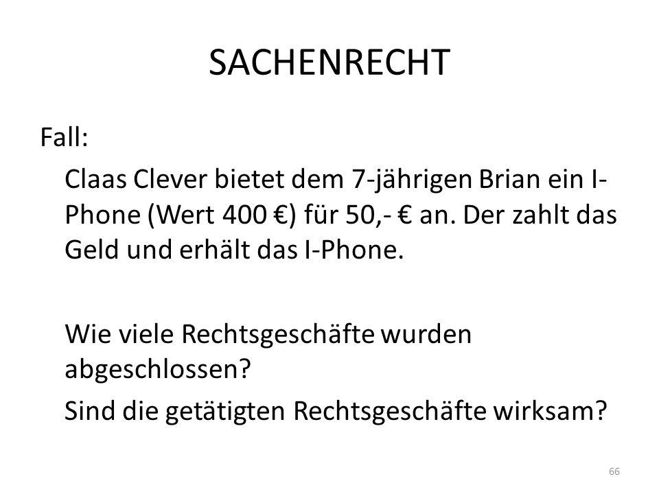 SACHENRECHT