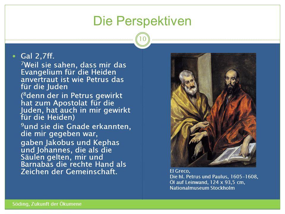 Die Perspektiven Gal 2,7ff.