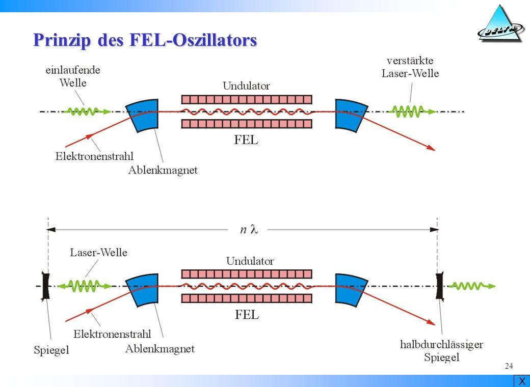 Prinzip des FEL-Oszillators