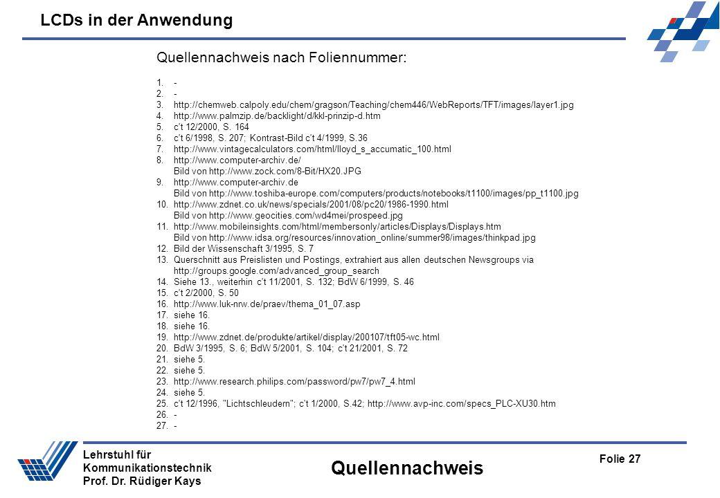 Quellennachweis Quellennachweis nach Foliennummer: 1. - 2. -