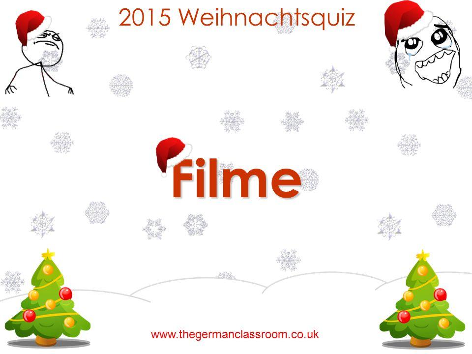 2015 Weihnachtsquiz Filme www.thegermanclassroom.co.uk