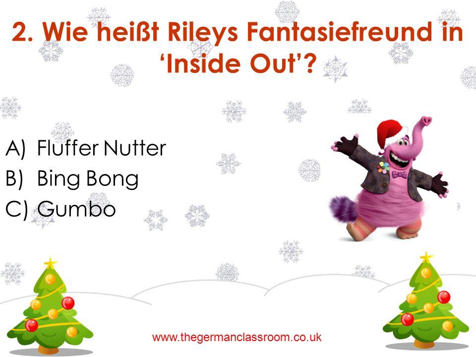 2. Wie heißt Rileys Fantasiefreund in 'Inside Out'