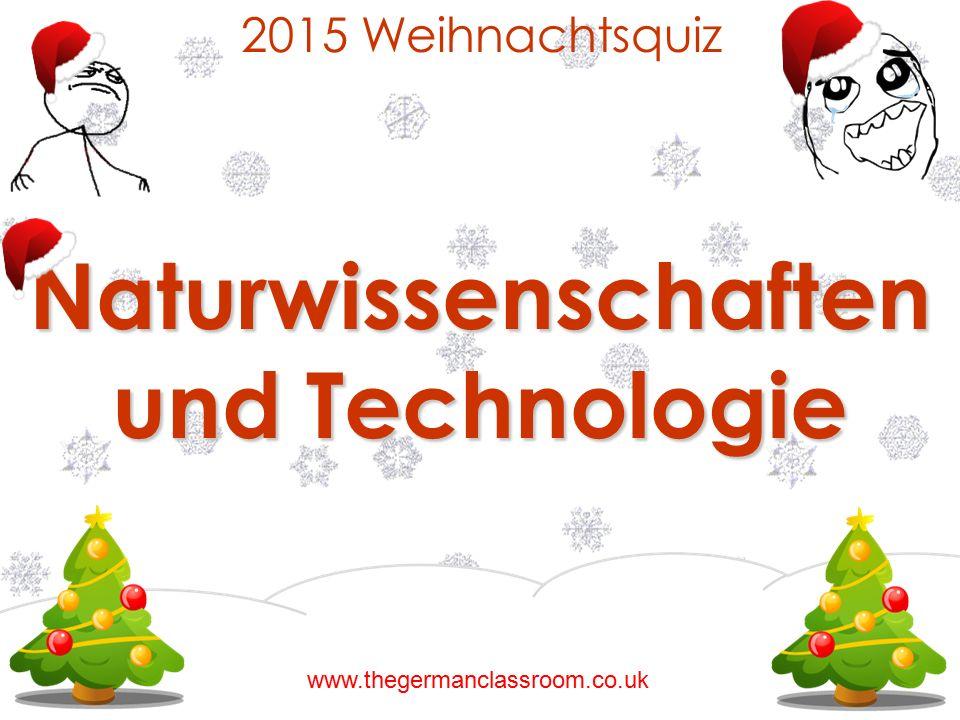 Naturwissenschaften und Technologie