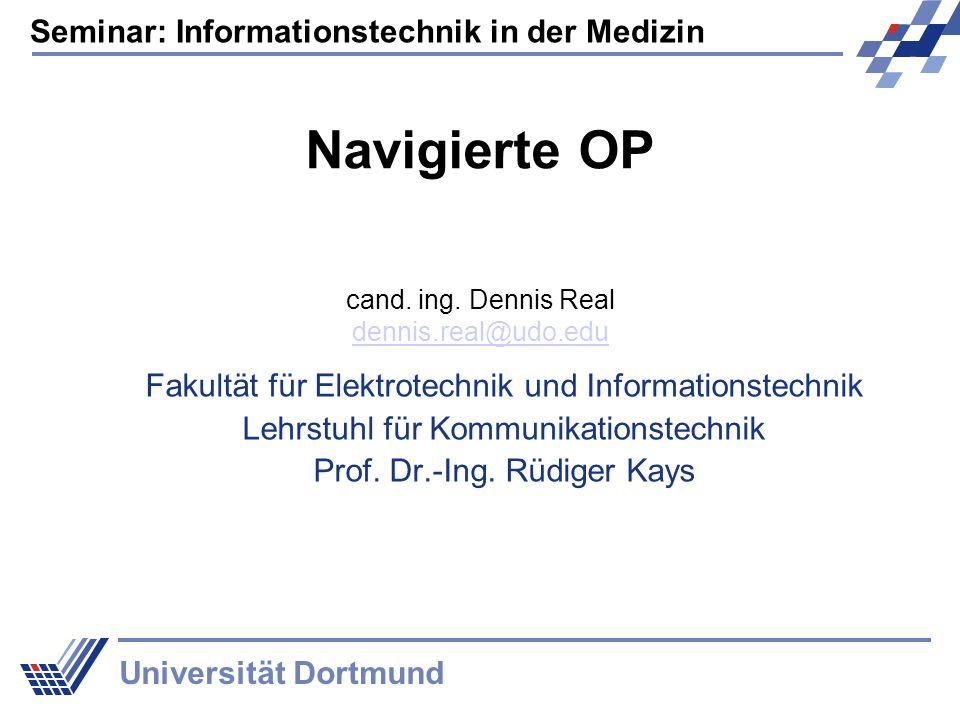 Navigierte OP Fakultät für Elektrotechnik und Informationstechnik