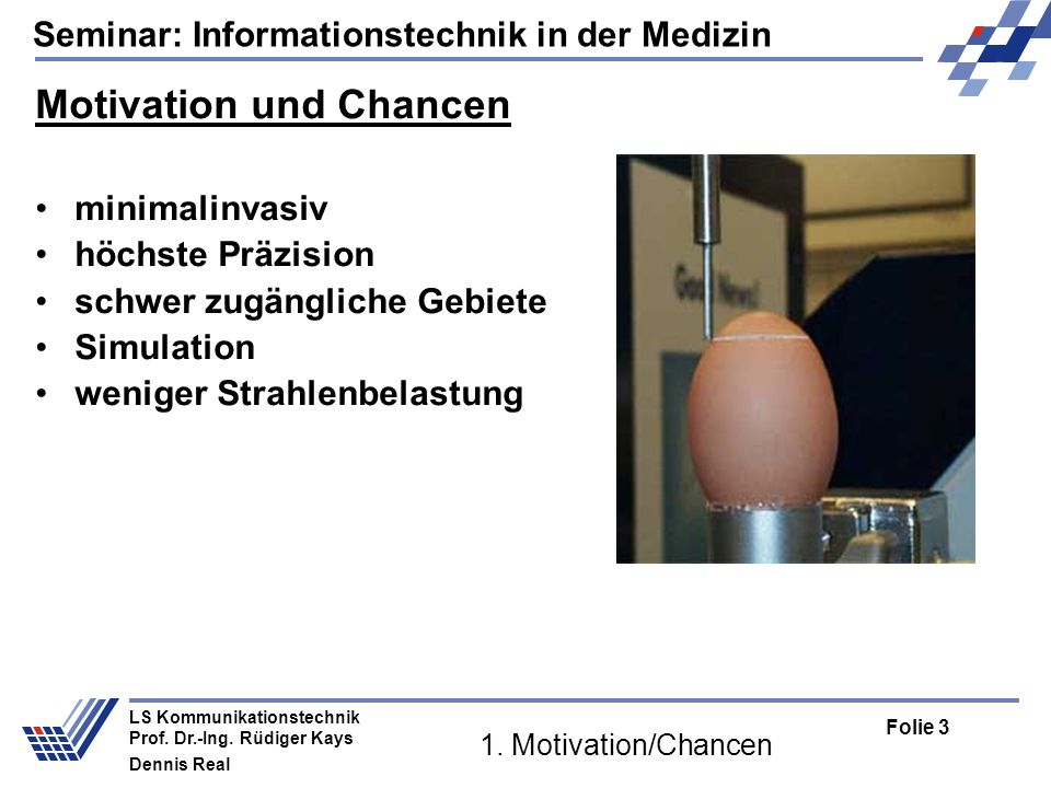 Motivation und Chancen