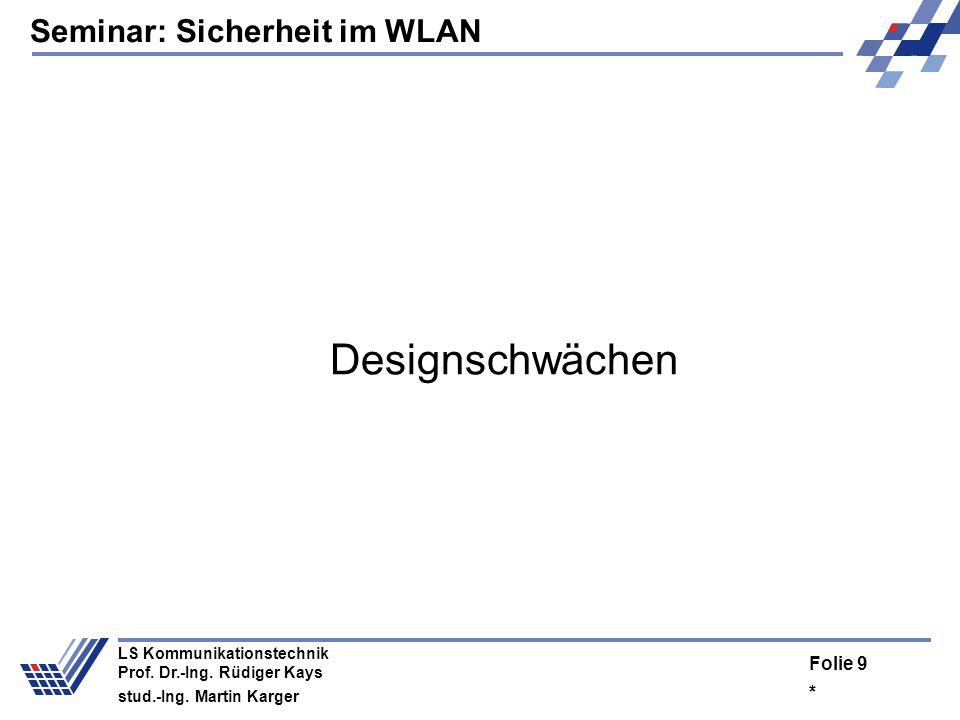 Designschwächen