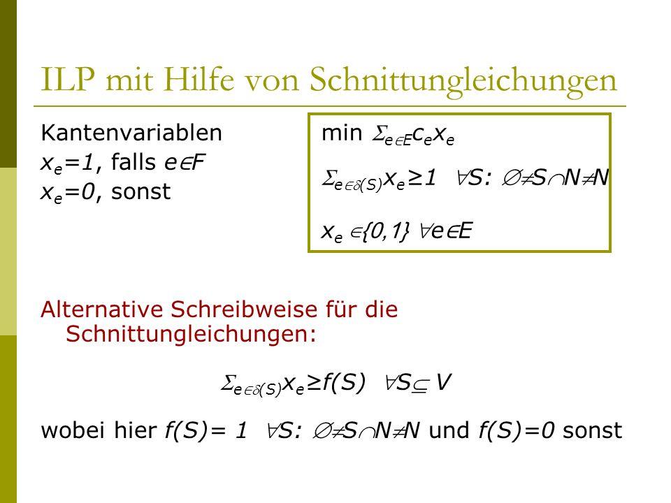 ILP mit Hilfe von Schnittungleichungen
