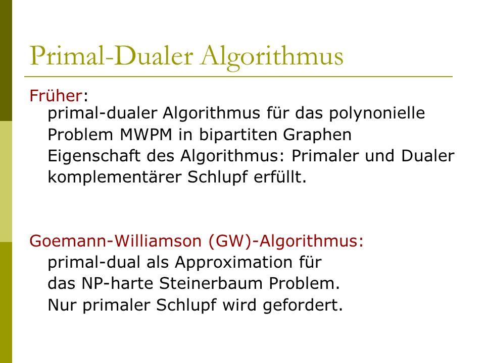 Primal-Dualer Algorithmus