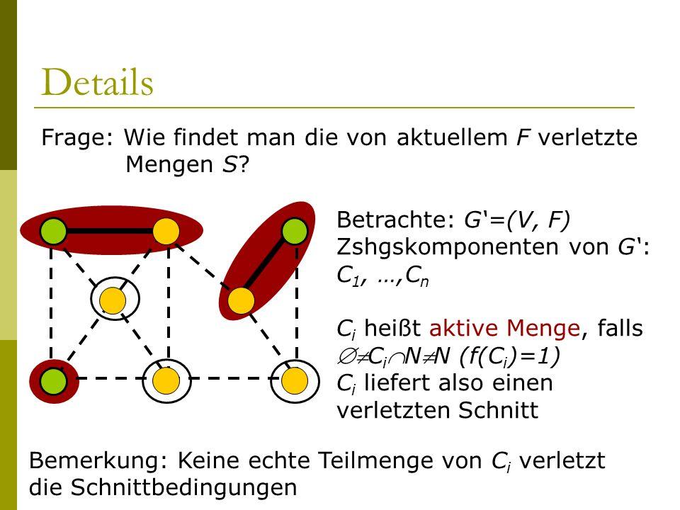 Details Frage: Wie findet man die von aktuellem F verletzte Mengen S