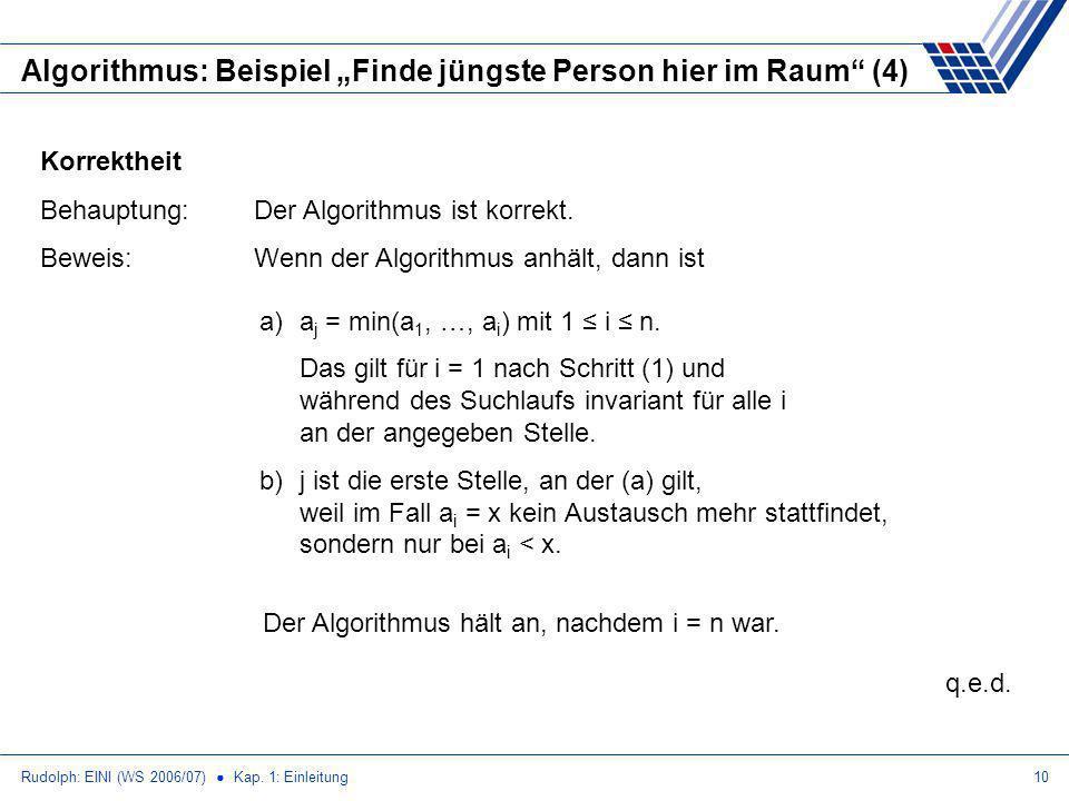 """Algorithmus: Beispiel """"Finde jüngste Person hier im Raum (4)"""