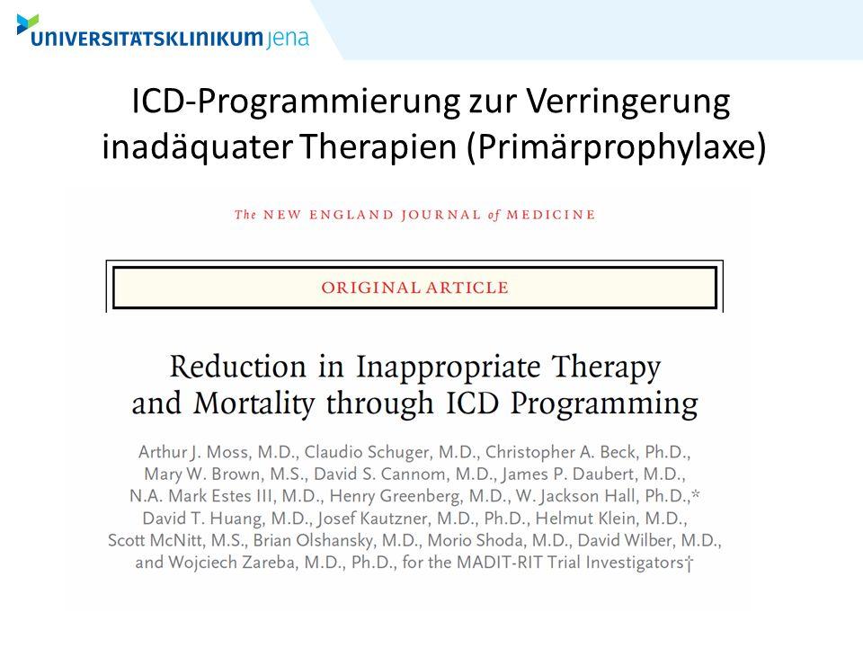 ICD-Programmierung zur Verringerung