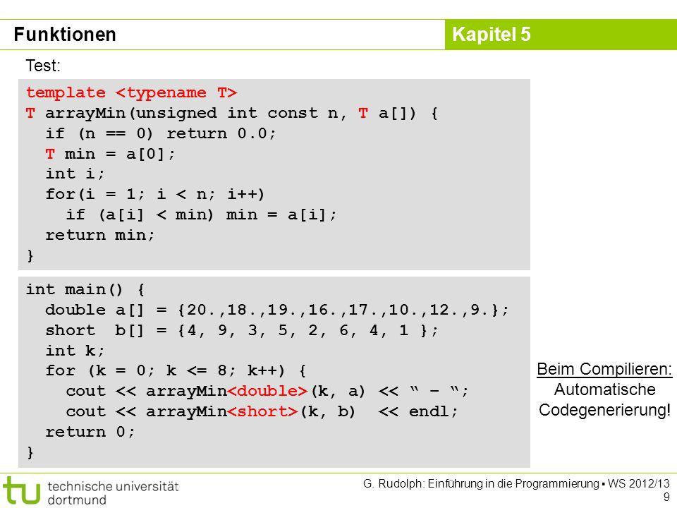 Automatische Codegenerierung!