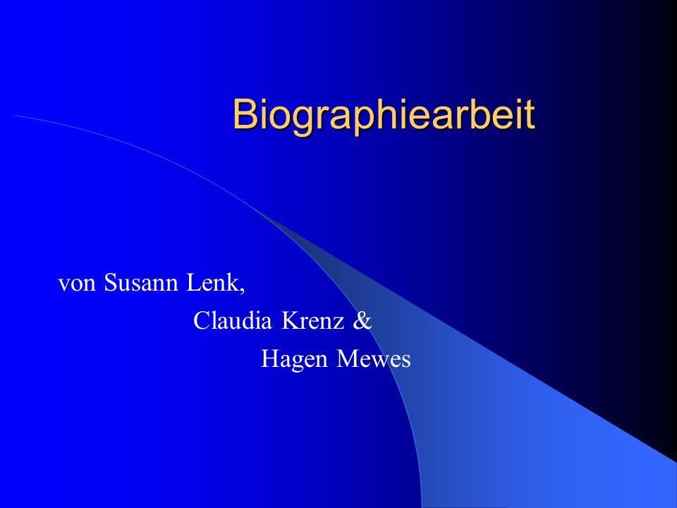 von Susann Lenk, Claudia Krenz & Hagen Mewes