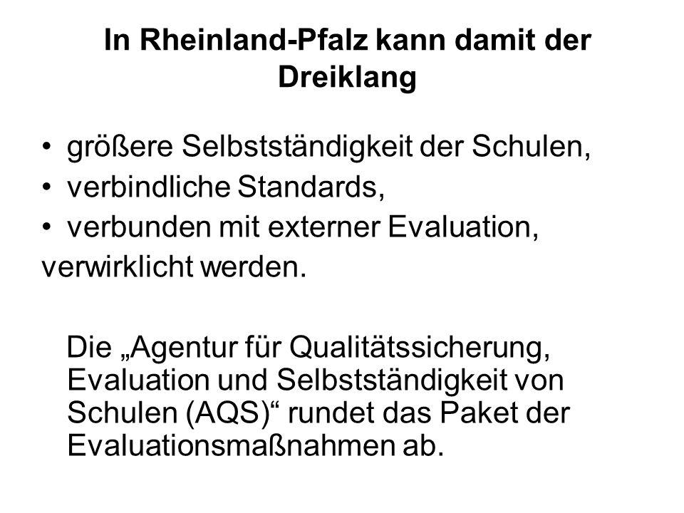 In Rheinland-Pfalz kann damit der Dreiklang