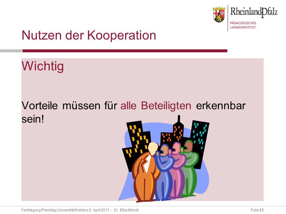 Nutzen der Kooperation