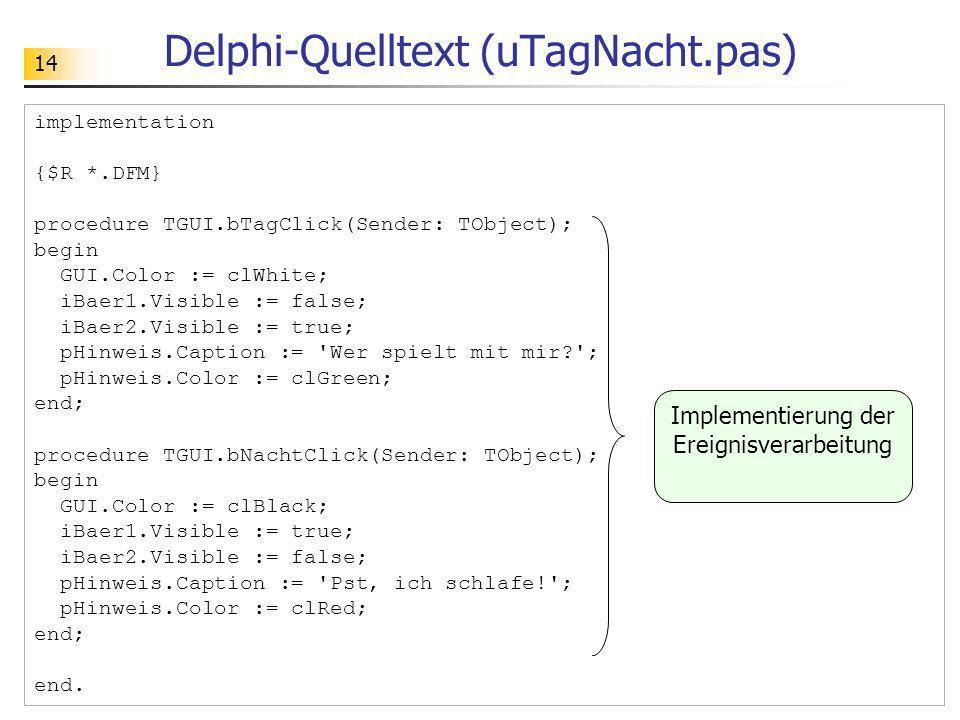 Delphi-Quelltext (uTagNacht.pas)
