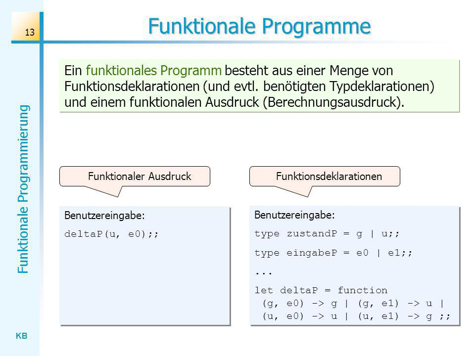 Funktionale Programme